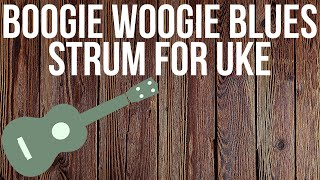 "Stuart Fuchs: ""Uke-a-Billy"" Lesson : Shuffle Strum in C (with ""boogie notes"")"