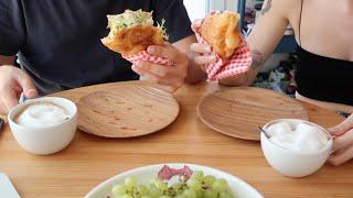 Dailylog#35  |  Bagel, pazar kahvaltısı, tofu show