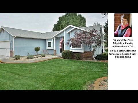 18412 Van Slyke Road, Wilder, Idaho Presented by Cindy & Josh Oldenkamp.
