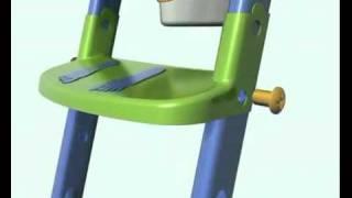 KidsKit Toilet Trainer www bebe best com com 360p