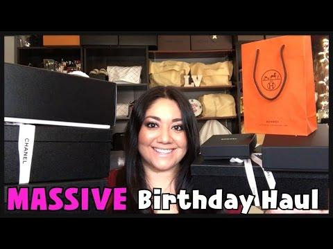 MASSIVE Birthday Haul | Chanel Cruise 2017 &  Hermes