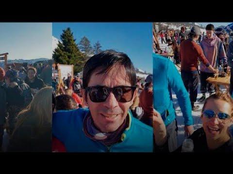 """Polemica en Cerro Chapelco por Esquiadores """"En Europa y en San Martin de Los Andes no hay Cuarentena"""
