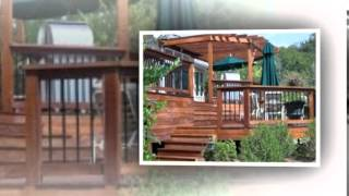 Cedar Deck Railing Designs