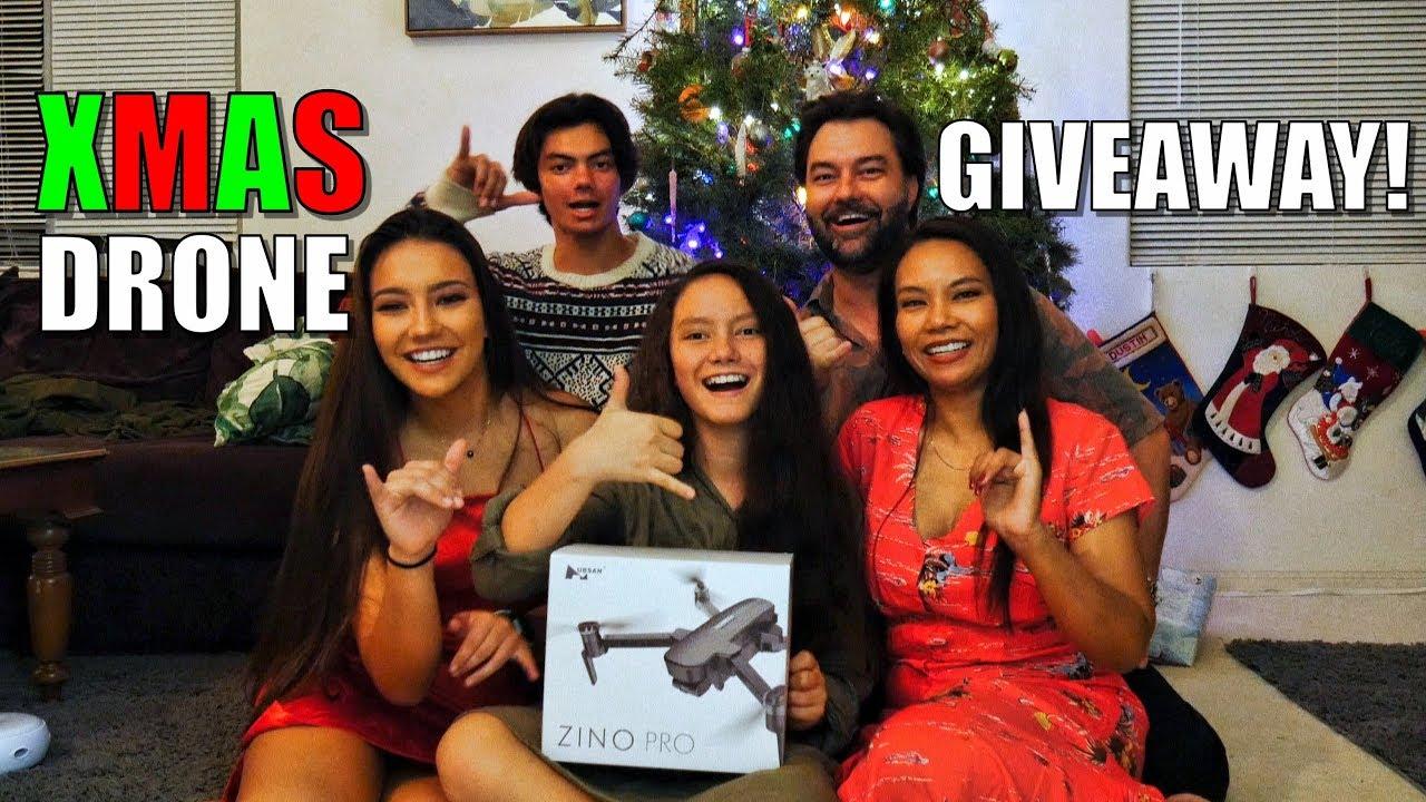 Christmas DRONE Giveaway! - Hubsan ZINO PRO - Mele Kalikimaka!