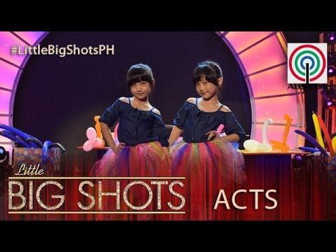 Little Big Shots Philippines: Super Twins