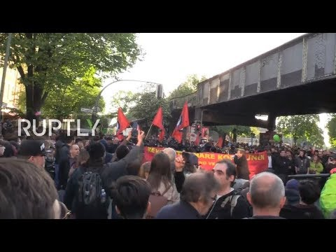 LIVE: Protesters march on Berlin for International Workers' Day