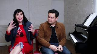 Kristen Anderson-Lopez and Robert Lopez discuss Frozen's music