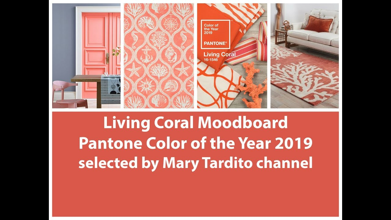 living coral pantone color of the year 2019 pantone color trends coral interior design ideas. Black Bedroom Furniture Sets. Home Design Ideas