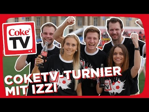 izzi beim CokeTV-Turnier in Paris | #CokeTVMoment