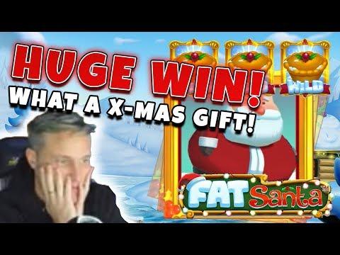 BIG WIN Fat Santa - Huge win - Casino (Online Casino) - CasinoDaddy