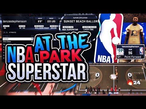 FACING AN NBA SUPERSTAR & ALL AMERICAN AT THE PARK ON A HIGH WIN STREAK! NBA 2K17 MYPARK thumbnail