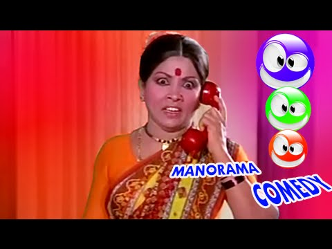 Manorama Comedy Scenes | Tamil Comedy Scenes Latest | Tamil Comedy Movies Full 2015 [HD]