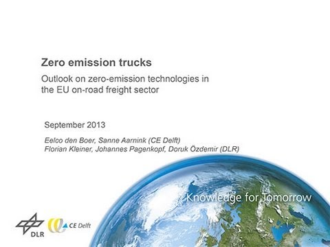 Zero-Emissions Trucks in Europe: The State of the Art [Webinar, 25 Sept 2013]