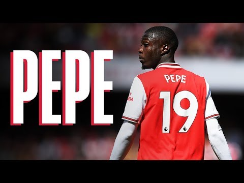 Pepe compilation including THAT nutmeg | Arsenal 2 - 1 Burnley