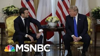 Trump Discusses Working Out A 'Mutually Beneficial Tax' With France | MSNBC