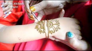 eid simple mehndi designs for baby hands Step by Step Mehendi Designs Easy Beautiful Henna