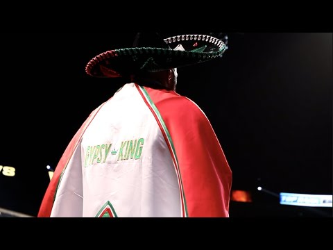 EPIC! - TYSON FURY'S MEXICAN INSPIRED RING-WALK @ T-MOBILE ARENA IN VEGAS BEFORE OTTO WALLIN FIGHT