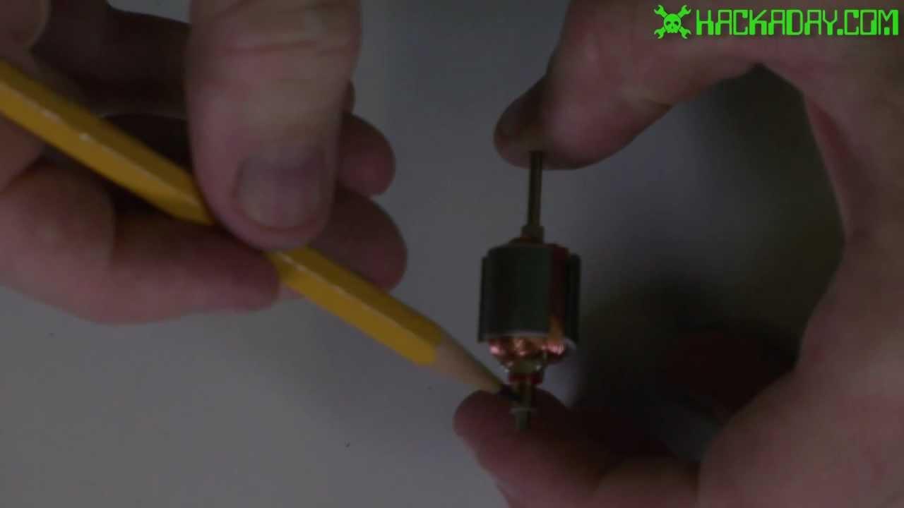 Rewinding a DC motor