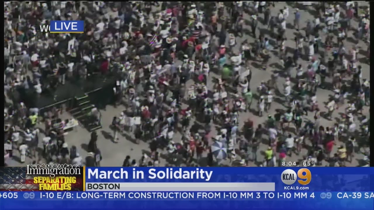 Thousands To Hit Downtown LA Streets For Immigration Protest
