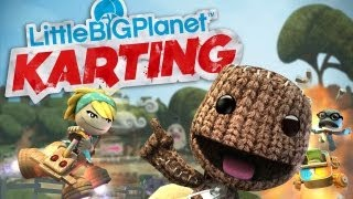 CGRundertow LITTLE BIG PLANET KARTING for PlayStation 3 Video Game Review