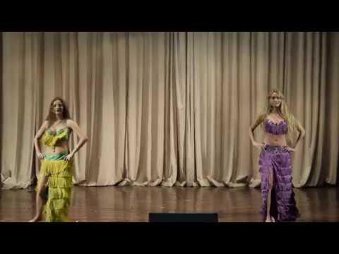 "Danilko Anna and Berkalo Anastasia New Year concert of the Oriental Dance School ""Royal Dance"""