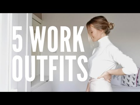 5 Workwear Outfits, What I Wear To Work As A DOCTOR | Workwear Look Book | Dr Sarah Nicholls