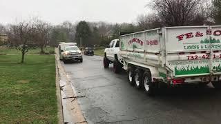 spring cleanup mulching flower beds Good luck everyone 2018 season