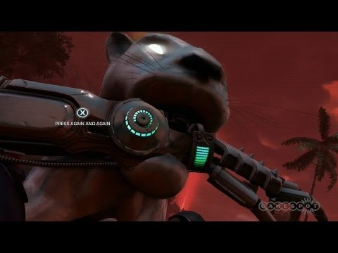 Road Carnage Far Cry 3 Blood Dragon Gameplay Xbox 360 Youtube