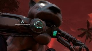 Road Carnage - Far Cry 3: Blood Dragon Gameplay (Xbox 360)