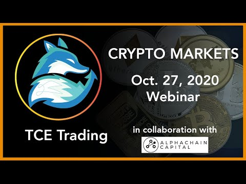 Crypto Markets – October 27th. Is Bitcoin heading to all time highs? ⎪TCE Trading