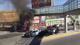 Rioting and Looting in Mexico as Gas Prices go up by more than 20%