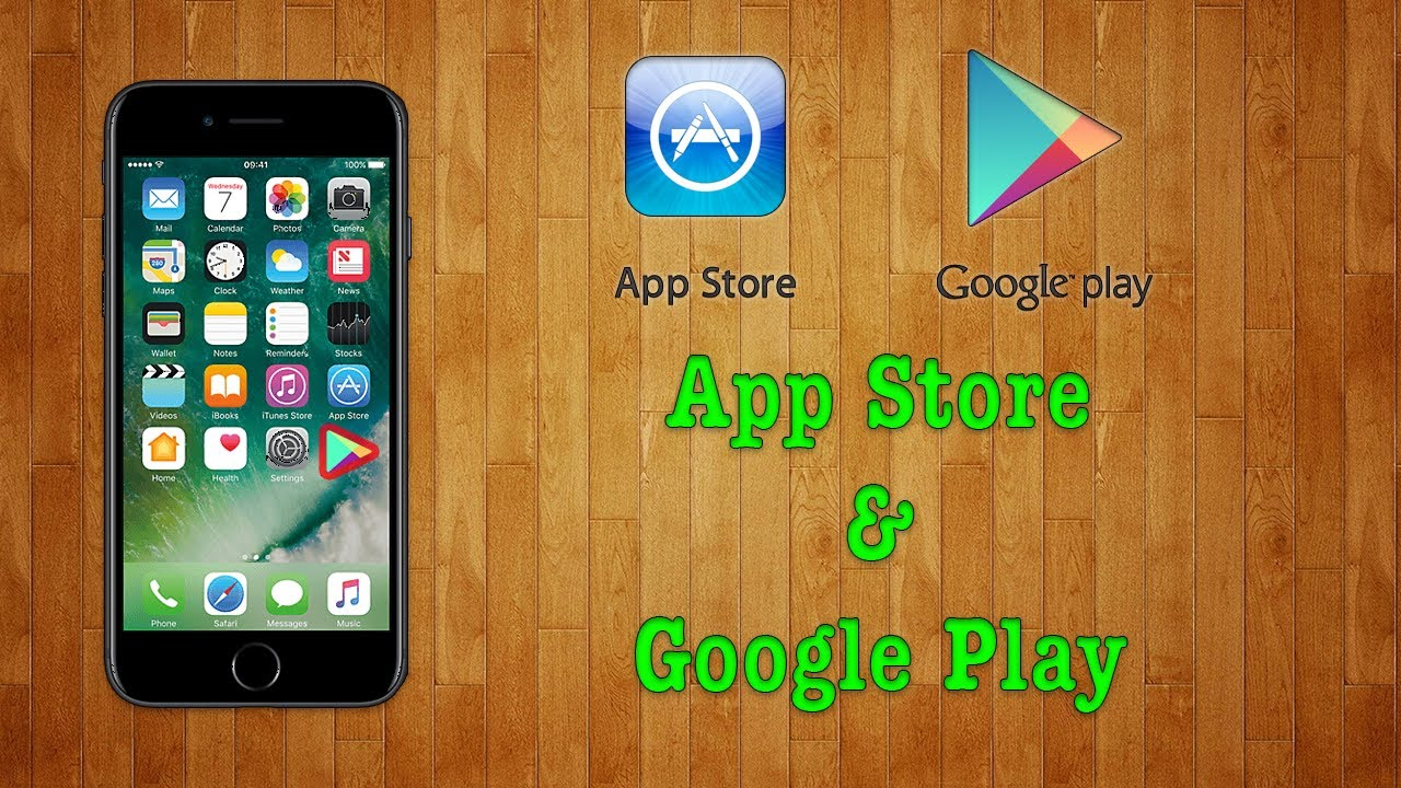 ios store google play store