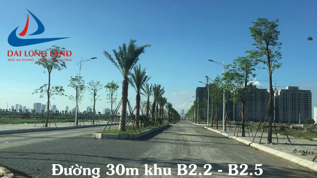 Đường 30m khu B2.2 – B2.5 Thanh Hà