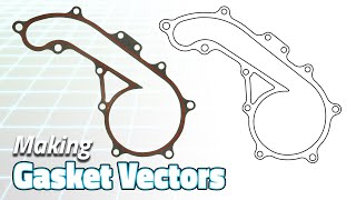Replicate Any Gasket! (Vector Graphics for CNC) | Saturday Projects