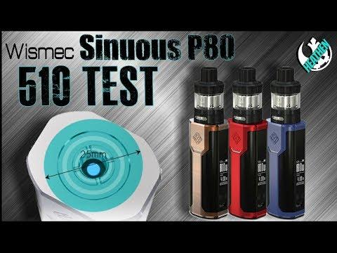 Sinuous P80(Mini Predator) 510 Torture Test I Wismec