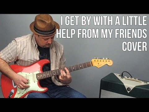 I Get By With A Little Help From My Friends Guitar Cover by Marty Schwartz