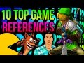 10 Top Video Game References in Video Games! - The Easter Egg Hunter