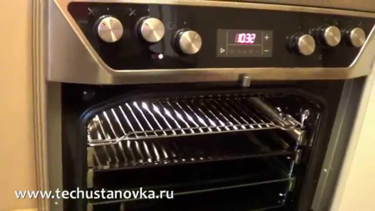 Электрическая плита HANSA FCCW 58226 HD 1080p - YouTube