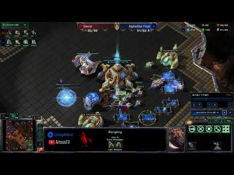 AlphaStar vs Serral - Game 1