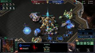 AlphaStar vs Serral - Game 1