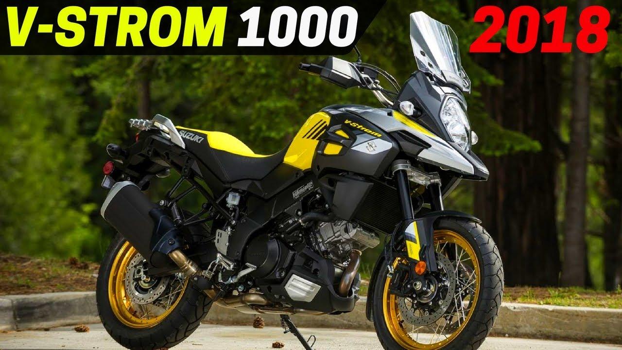 Wow 2018 Suzuki V Strom 1000 Adventure Upgrade Style