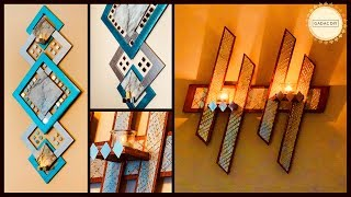 2 Unique Wall Hanging Craft Ideas| Gadac Diy|wall Decorations Ideas|home Decorating Ideas|wall Decor