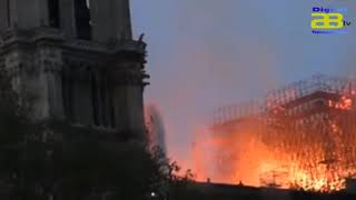 Notre Dame , la Catedral de París devastada por las llamas