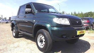 2011 УАЗ Pickup.  Обзор (интерьер, экстерьер, двигатель).