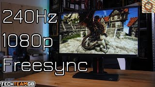 Viewsonic XG2530 240Hz Monitor Review & Giveaway