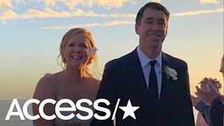 Amy Schumer Is Married To Chris Fischer: All The Details On Her Big Day!