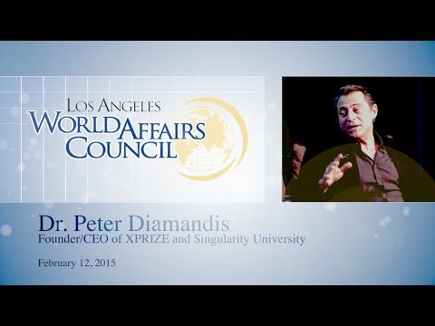 Peter Diamandis – Flying Stephen Hawking into zero-G
