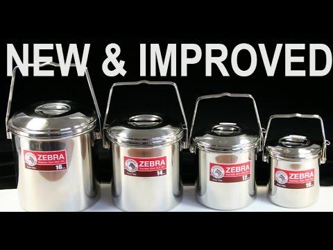 ZEBRA Billy Bush Pots, New & Improved!