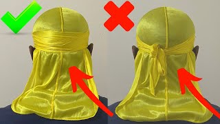 Durag Hurting Your Head? | No Knot Method Tutorial 2021