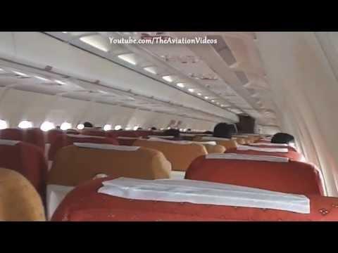 The Beautiful all economy 168 seater AI A320 - Interiors!